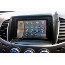 Mitsubishi DVD Touchscreen